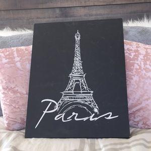 Paris Sign Canvas